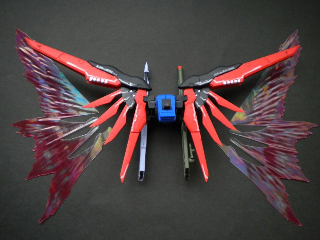 RGデスティニー光の翼取付前