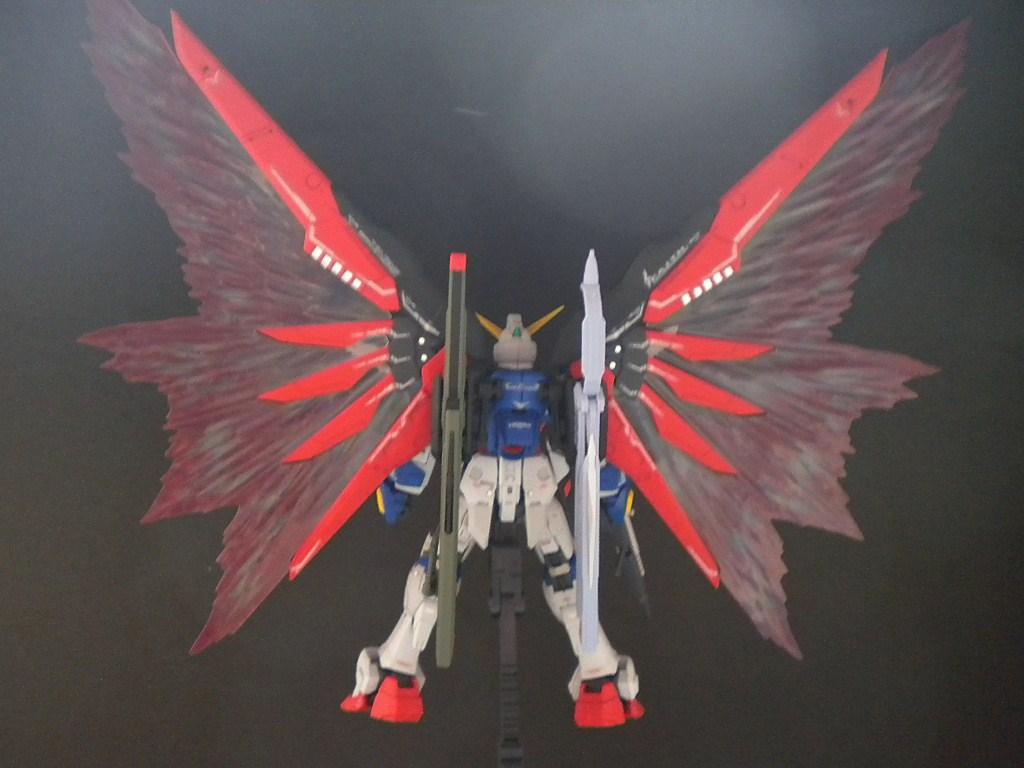 RGデスティニー光の翼展開リア