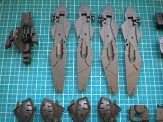 MG ウイングガンダムプロトゼロ フレーム塗装3