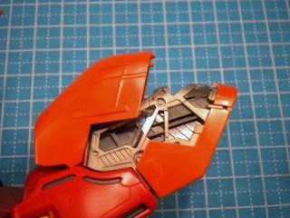 MGサザビーverka腕製作5.JPG